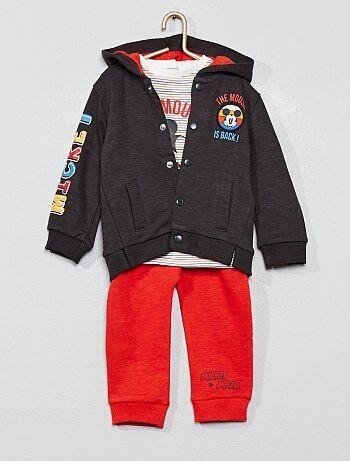 Felpa + maglia + pantaloni 'Topolino' - Kiabi