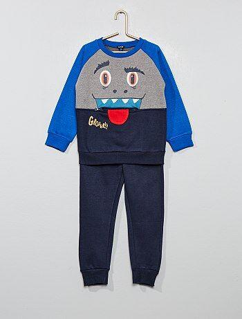 0e669df241 Saldi completi pantalone e felpa in cotone e con stampe Bambino | Kiabi