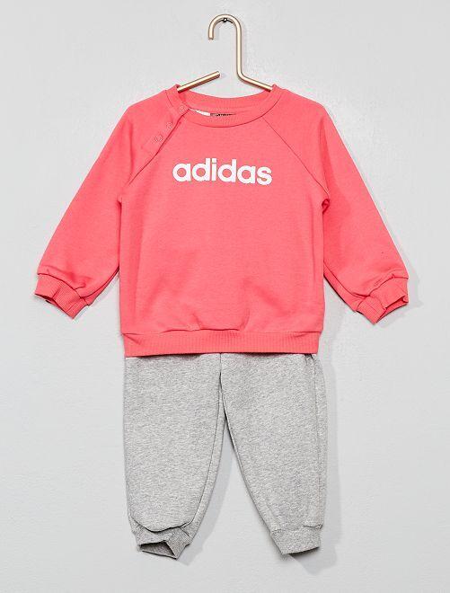 Felpa + pantaloni da tuta 'Adidas'                             ROSA Neonata