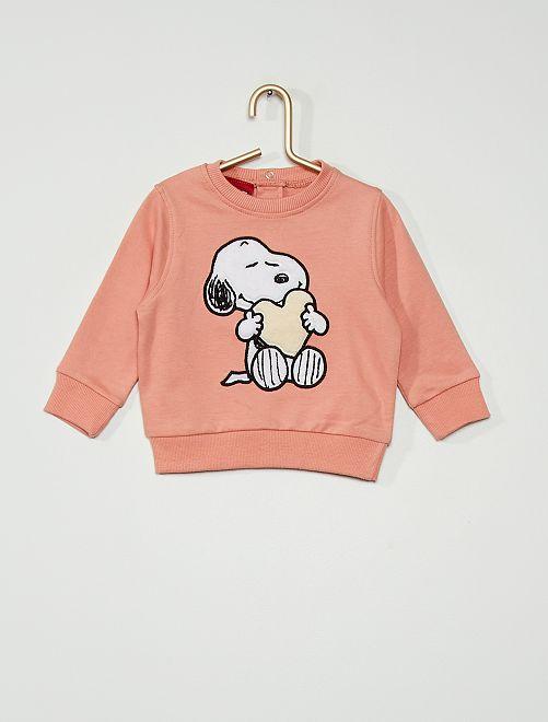 Felpa 'Snoopy'                                         ROSA