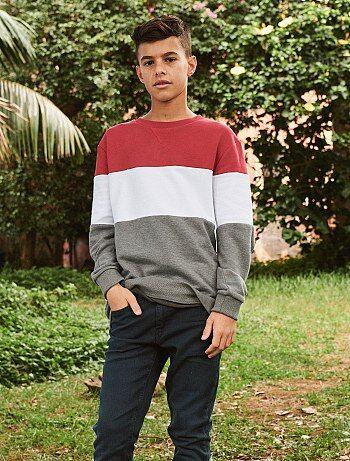 Bambino 10-18 anni - Felpa tessuto felpato leggero - Kiabi 46928c7106c