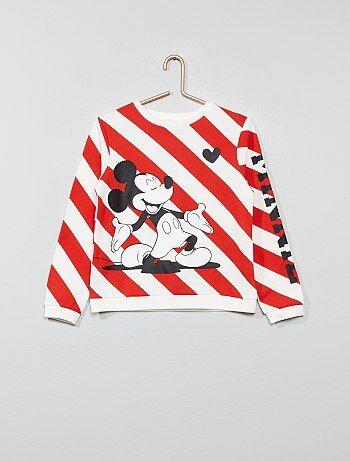 Felpa tessuto felpato 'Minnie' - Kiabi