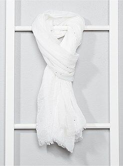 Sciarpe, guanti, berretti - Foulard fluido con lustrini - Kiabi