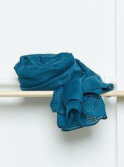 Foulard, sciarpe - Foulard rettangolare morbido voile iridescente