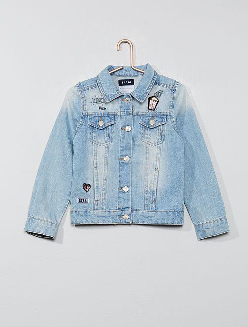 Giacca jeans                     BLU Infanzia bambina