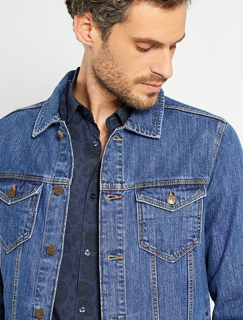 Giacca jeans                                                     BLU