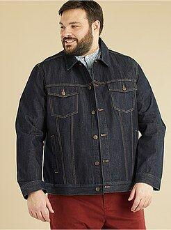 Taglie forti Uomo - Giacca jeans - Kiabi