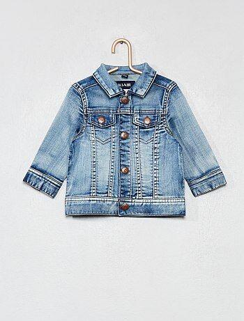 Bambino 0-36 mesi - Giacca jeans effetto delavé - Kiabi f6ded2f0793e