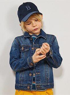 Giacca jeans effetto delavé - Kiabi