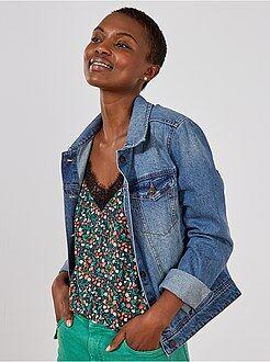 Donna dalla 38 alla 52 Giacca jeans