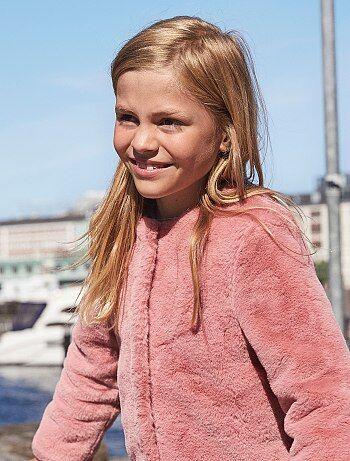 Bambina 3-12 anni - Giacca pelliccia ecologica - Kiabi