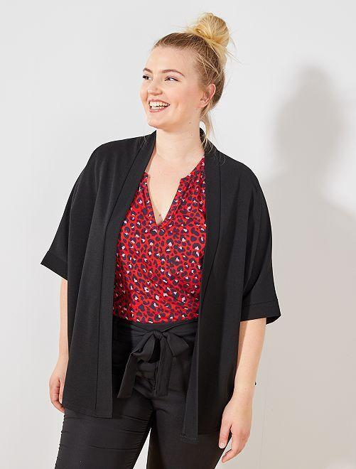 Giacca taglio kimono                                         nero