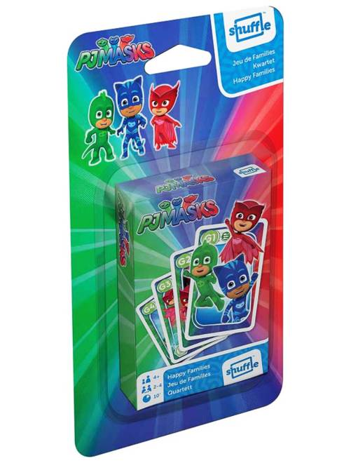 Gioco 7 famiglie 'PJ MasKs - Super pigiamini'                             blu Infanzia bambino