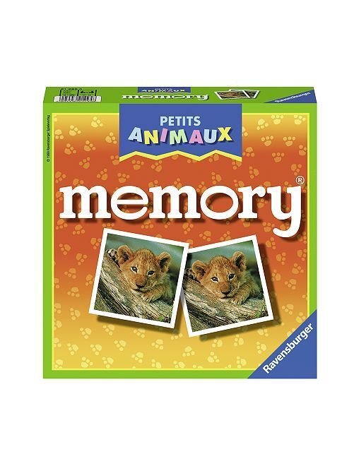 Gioco di memoria animali                             multicolore