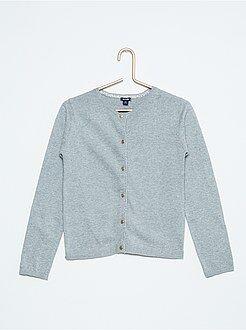 Pull, cardigan - Golfino cotone maglia sottile dettaglio luccicante