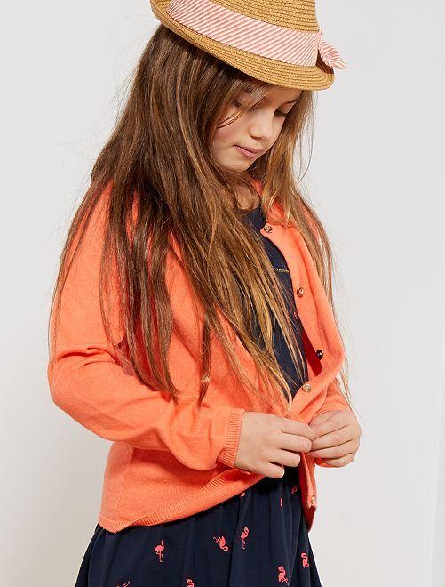 Golfino maglina                                                                                                                             arancio corallo Infanzia bambina