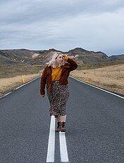 more photos 68ba5 692a7 Gonne lunghe Taglie forti donna | marrone | Kiabi