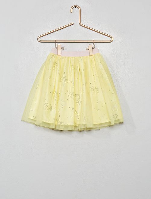 Gonna in tulle                                                     GIALLO