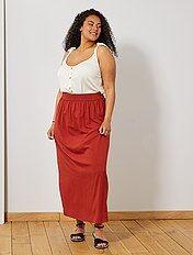 design di qualità 0a211 c6776 Gonne lunghe taglie forti a prezzi scontati da donna - moda ...