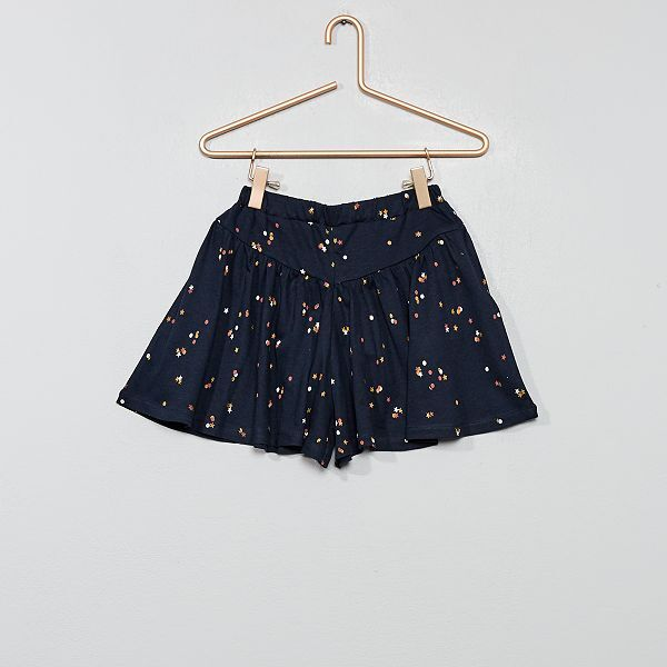 super cute 0e6c0 a308a Gonna pantaloncino stampata