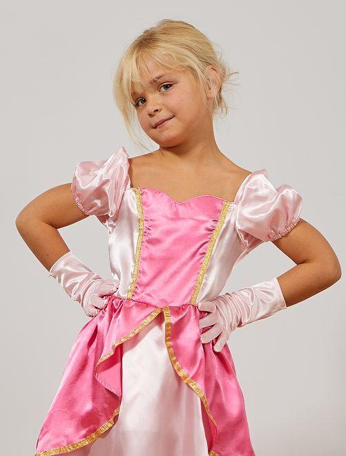 Guanti principessa delle nevi                             rosa
