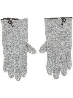Sciarpe, guanti, berretti - Guanti tinta unita - Kiabi