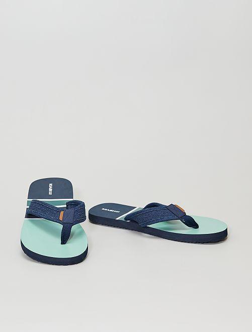Infradito da spiaggia                                         blu navy