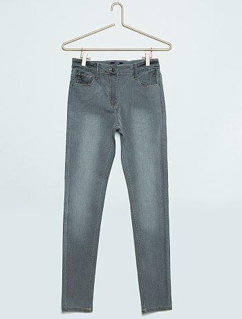 Jeans skinny vita alta ragazza grigio kiabi 8 00 for Raumgestaltung jean grigo
