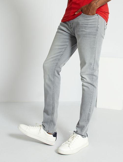 Jean slim L32                                                                             grigio chiaro Uomo
