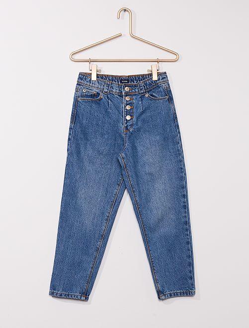 Jeans a vita alta                     BLU