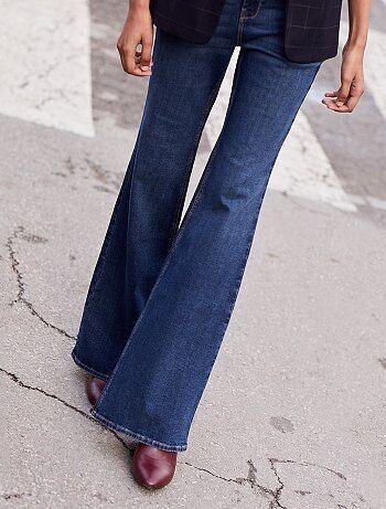 Jeans bootcut vita alta - Kiabi