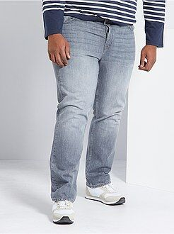 Taglie forti Uomo - Jeans comfort 5 tasche - Kiabi