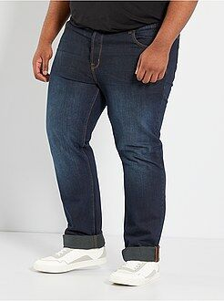 Taglie forti Uomo Jeans comfort 5 tasche