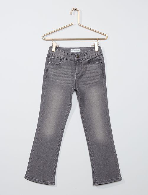 Jeans cropped eco-sostenibili                                                     GRIGIO