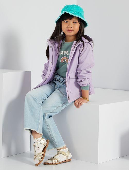 Jeans cropped eco-wash                                                                 BLU