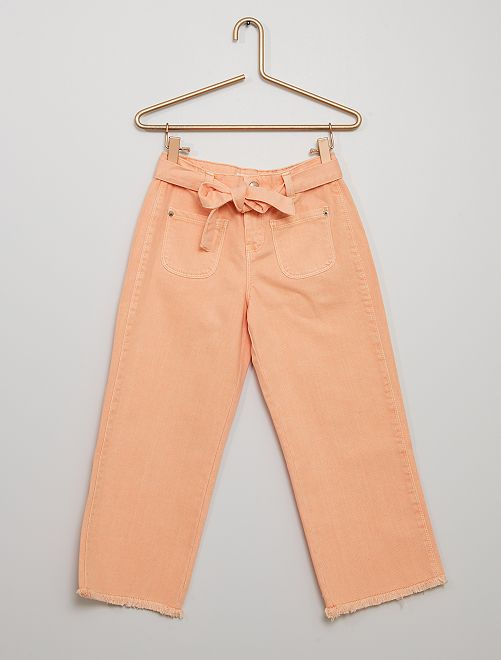 Jeans cropped eco-wash                                                                 ROSA