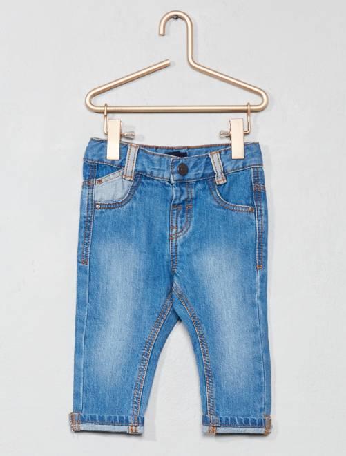 Jeans dritti denim                                                     doble stone Neonato