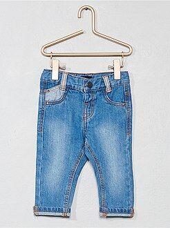 Pantaloni, jeans, leggings - Jeans dritti denim