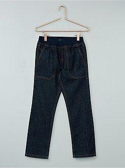 Jeans - Jeans dritti elastico in vita - Kiabi
