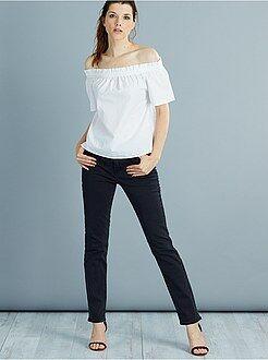Jeans regular, dritti - Jeans dritti vita molto alta - Lunghezza US32
