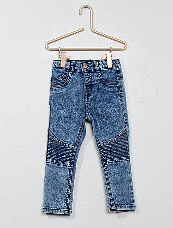 Jeans effetto motociclista - Kiabi