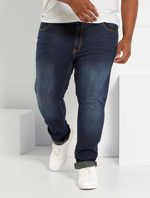 Jeans fitted eco-sostenibili                                                                             blu indaco
