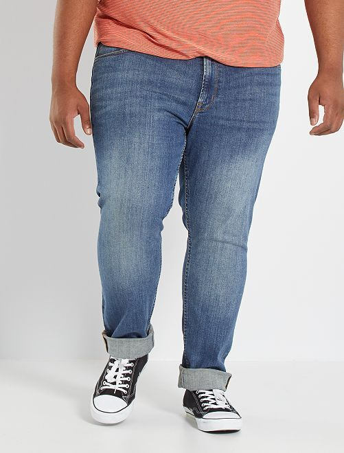 Jeans fitted eco-sostenibili                                                                             BLU