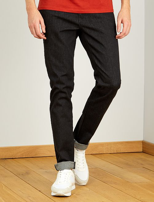 Jeans fitted L36 + 1 m 90                             GRIGIO