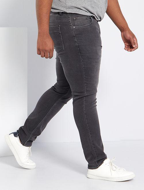 Jeans fitted stretch                                                     GRIGIO Taglie forti uomo