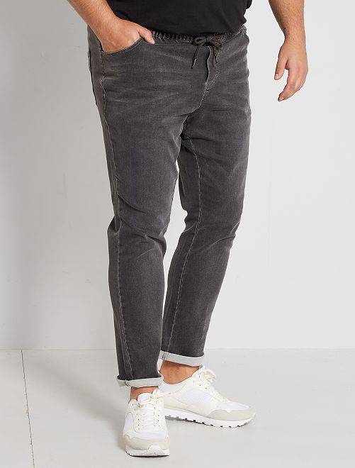 Jeans fitted stretch                                                     GRIGIO