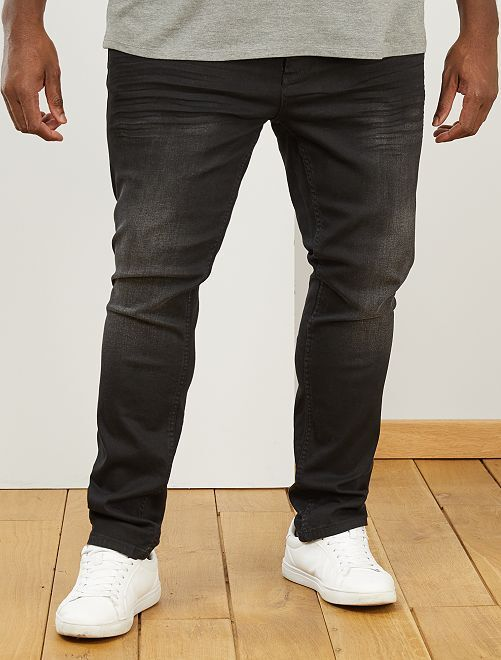 Jeans fitted stretch                             NERO
