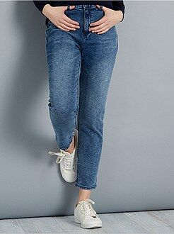 Jeans regular, dritti - Jeans girlfriend vita alta