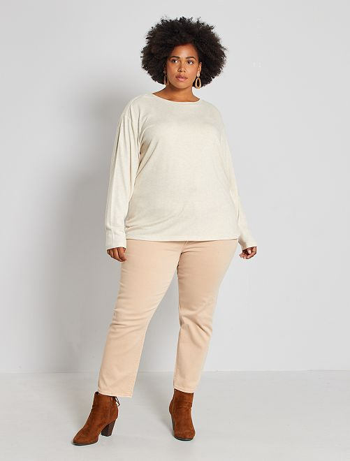 Jeans mom 7/8 in twill stretch                                                     ROSA
