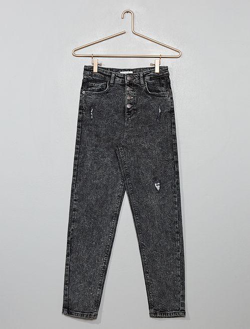 Jeans mom destroy                                                     GRIGIO